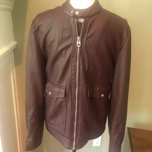 Zara Faux Leather jacket,excellent condition,Small